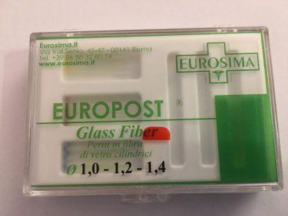 perni in fibra di vetro 18 pz europost