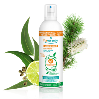 Purificante Spray Puressentiel per l'Aria 41 Oli Essenziali 500 ml