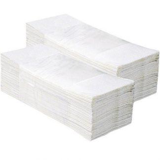 asciugamani piegati a V